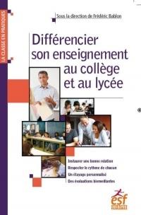 Différencier son enseignement au collège et au lycée