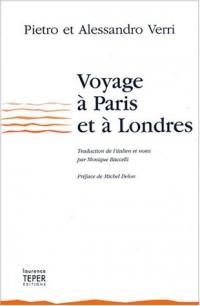 Voyage à Paris et à Londres (1766-1767)