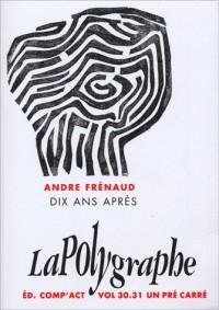 Andre frenaud dix ans apres vol 31/32