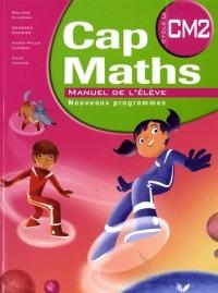 Cap maths CM2 ed 2010, manuel de l'eleve et dico-maths