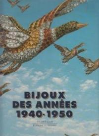 Bijoux des années 1940-1950