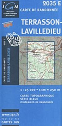 Terrasson-Lavilledieu GPS: Ign2035e