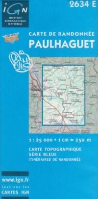 Carte de randonnée : Paulhaguet