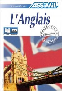 L'Anglais (1 livre + coffret de 4 cassettes)