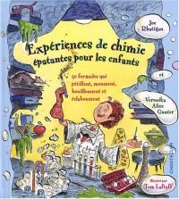Expériences de chimie épatantes pour les enfants