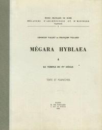 Mégara Hyblaea : Tome 4, Le Temple du IVe siècle, Texte et Planches
