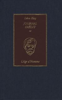 Journal inédit III