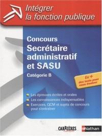 Concours Secrétaire administratif et SASU : Catégorie B