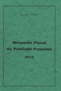 Mémento fiscal de publicité foncière (1Cédérom)