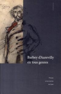Barbey d Aurevilly en Tous Genres