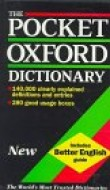 Pocket oxford dictionnary of current English