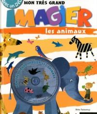 Mon très grand imagier : Les animaux (1DVD)