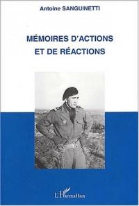 Memoires d'actions et de reactions