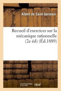 Recueil Mécanique Rationnel  2e ed  ed 1889
