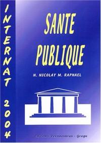 Santé publique : Internat 2004