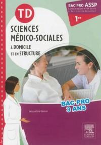 Td Sciences Medico-Sociales Premier Bac Pro Assp