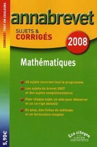 Mathématiques Brevet : Sujets et corrigés
