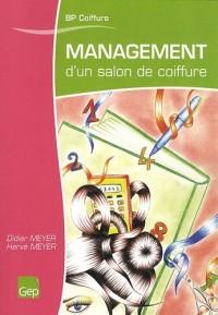 Management d'un salon de coiffure BP Coiffure