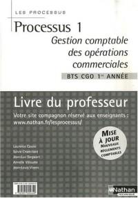 Processus 1 Gestion comptable des opérations commerciales BTS CGO 1e année : Livre du professeur