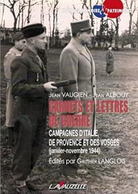 Carnets et lettres de guerre - Jean Vaugien - Jean Albouy