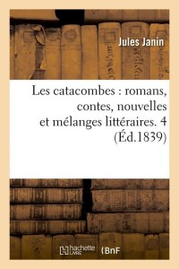Les Catacombes  Romans  4  ed 1839