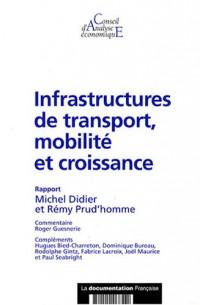 Infrastructures de transport, mobilité et croissance (CAE n.69)