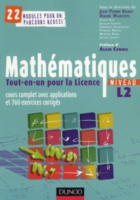 Mathématiques Tout-en-un pour la Licence, Niveau L2