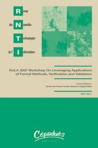 Revue des Nouvelles Technologies de l'Information Rnti-Sm-1-Isola 2007