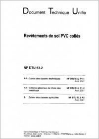 Dtu 53.2 Revetements de Sol Plastiques Colles