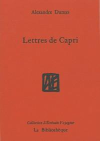 Lettres de Capri