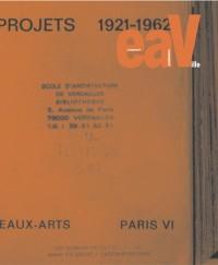 EAV, la revue de l'école d'architecture de Versailles, numéro 9