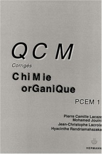 QCM corrigés de Chimie organique