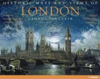 Londres cartes et vues historiques