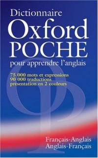 Dictionnaire Oxford poche pour apprendre l'anglais. : Français-anglais, anglais-français