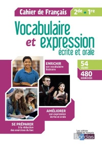 Vocabulaire et expressions Français 2de/1re 2018