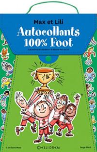 Pack foot Max et Lili : Autocollants 100% Max et Lili ; Coupe du monde 2018