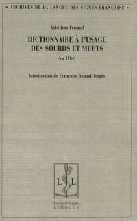 Dictionnaire des Sourds et Muets