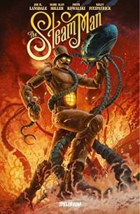 Steam Man : Duel avec le Cavalier noir