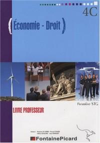 Economie-Droit 1e STG : Livre professeur (1Cédérom)