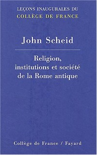 Religion institutions et société Rome antique