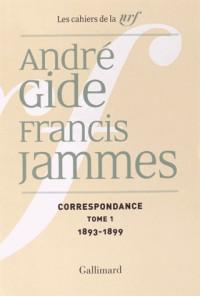 Correspondance (Tome 1-1893-1899): (1893-1938)