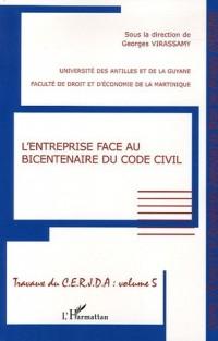 L'entreprise face au bicentenaire du code civil