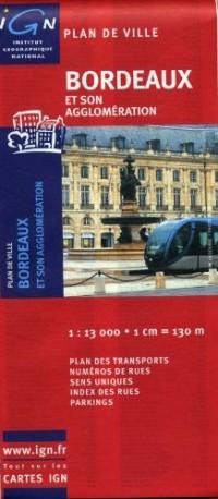 72362 Plan de Bordeaux 1/13.000
