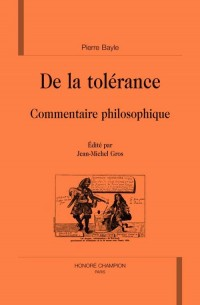 De la tolérance
