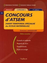 Concours d'ATSEM (Agent Territorial Spécialsé des Ecoles Maternelles) : Catégorie C