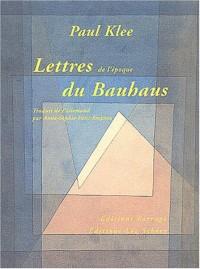 Lettres du Bauhaus, 1920-1931