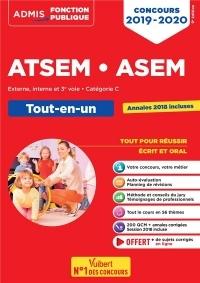 Concours ATSEM et ASEM - Catégorie C - Tout-en-un - Concours 2019-2020