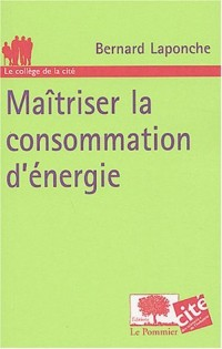 Maîtriser la consommation d'énergie