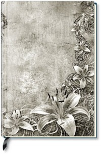 Alpha Edition - Carnet de notes vierge - Art floral (Import Allemagne)