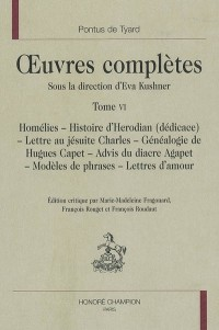 Oeuvres complètes : Tome 6